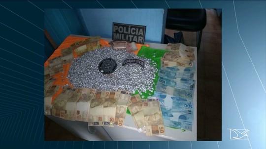 Polícia Militar apreende mais de duas mil pedras de crack no Maranhão