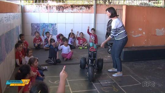 Projeto 'Oficina Raio de Sol' leva alegria para crianças paranaenses