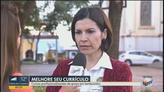 Sertãozinho oferece cursos profissionalizantes gratuitos para jovens a partir de 15 anos