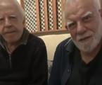 Cid Moreira com o irmão, Célio | Reprodução