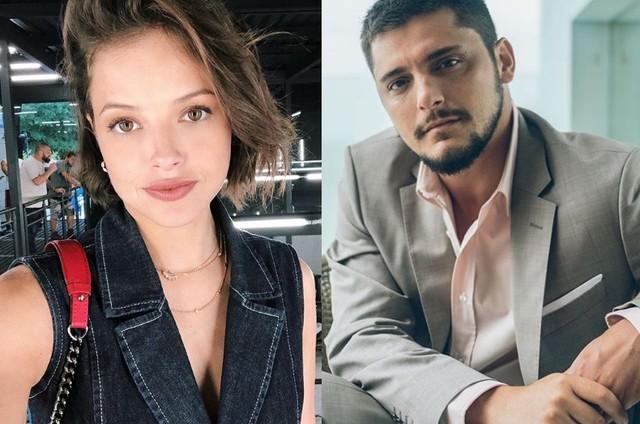 Agatha Moreira e Bruno Gissoni (Foto: Reprodução Instagram)