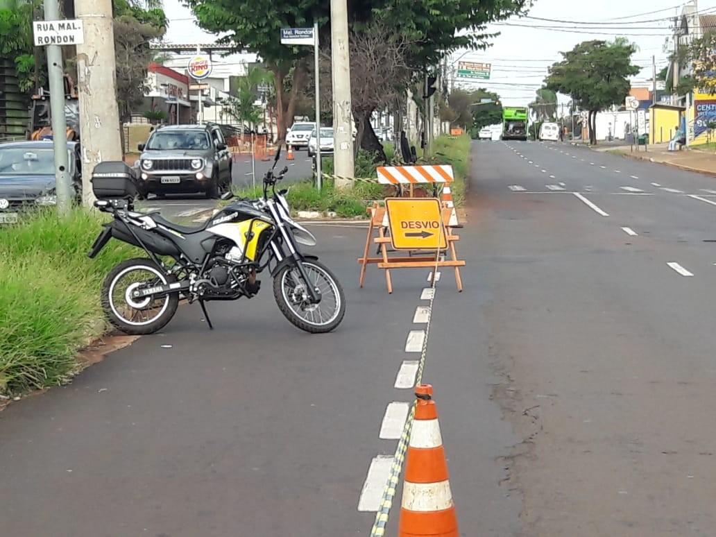 Avenida Independência tem nova interdição para obra de mobilidade em Ribeirão Preto, SP