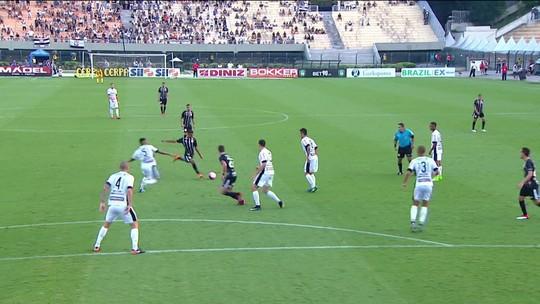 Gol de Pedrinho, pelo Corinthians contra o Bragantino é eleito a Pintura da rodada