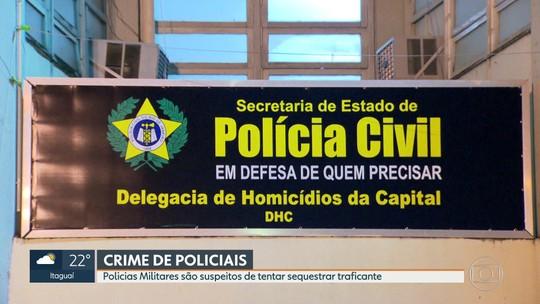 Policiais Militares são suspeitos de tentar sequestrar traficante
