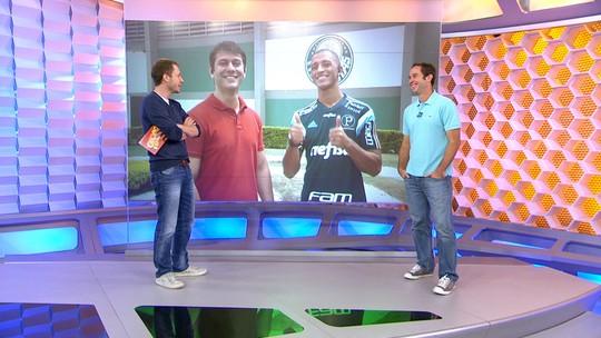 Hoje em negociação para voltar ao Palmeiras, Vitor Hugo já fez gol de bicicleta e soltou palavrão ao vivo