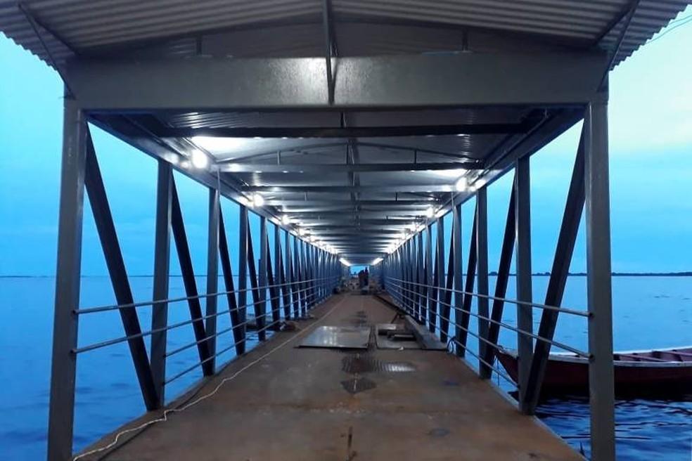 Segundo a CPH, o terminal receberá cerca de 600 pessoas por dia — Foto: Ascom/Agência Pará
