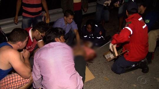 Acidente entre carro e caminhão guincho deixa feridos na BR-316, em Pilar