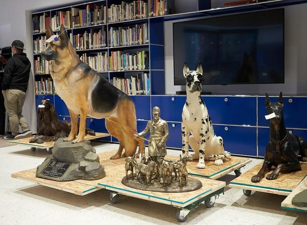 Pinturas, esculturas e obras literárias ficarão disponíveis para os visitantes (Foto: David Woo/ AKC/ Reprodução)