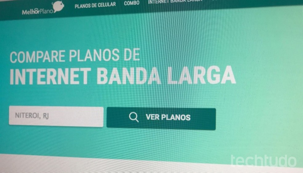 1542ae977d ... Tutorial mostra como usar o site Melhor Plano para encontrar internet  banda larga com preço baixo