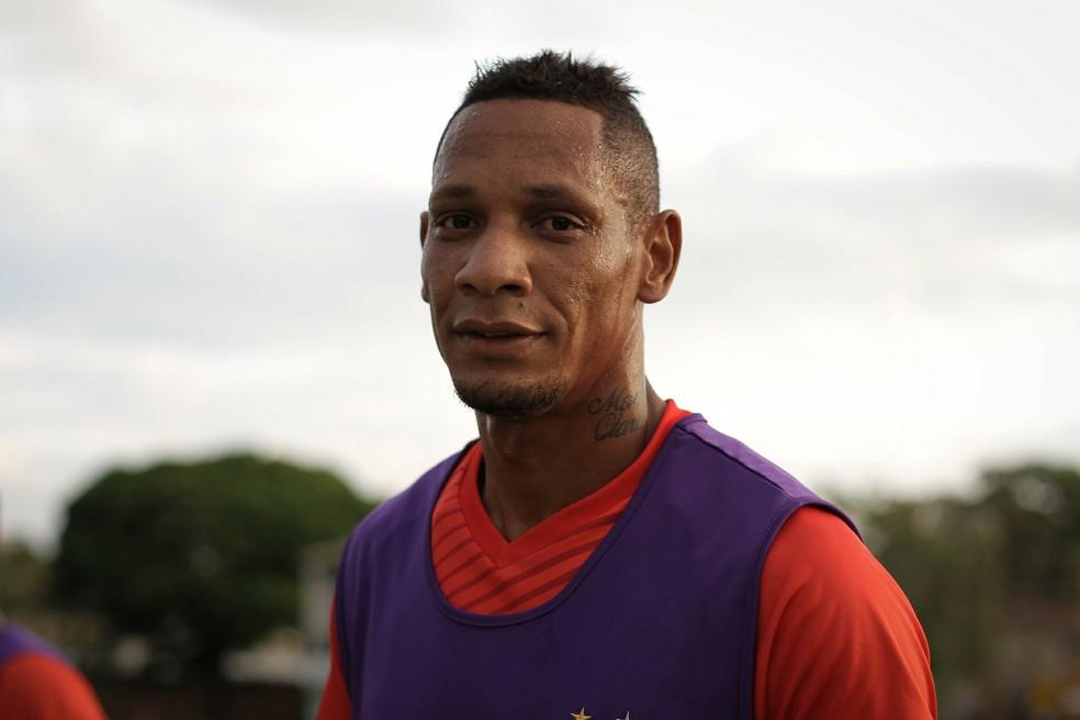 Marcão é reforço do Remo na Série C — Foto: Letícia Martins / Guarani FC