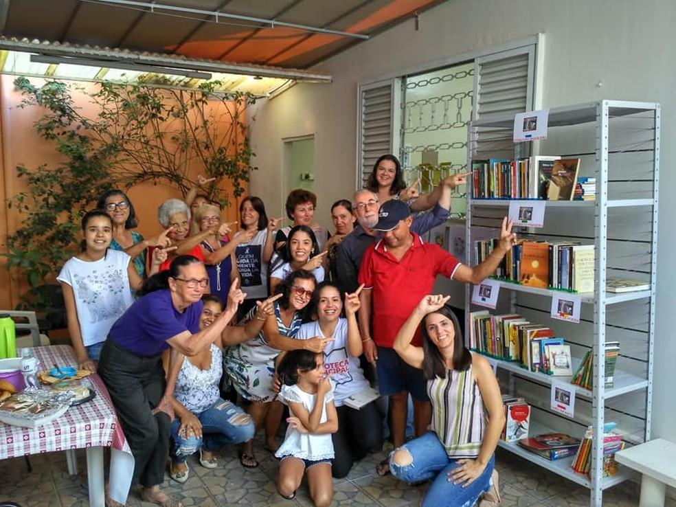 Prefeitura inaugurou o projeto Farmacinha da Leitura em Marília — Foto: Prefeitura de Marília/Divulgação