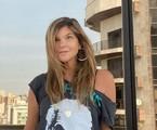 Cristiana Oliveira, que está na reprise de 'O clone', em foto em Belo Horizonte (MG) | Reprodução