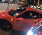 Caio Castro e sua Ferrari de R$ 2,3 milhões | Reprodução/Youtube