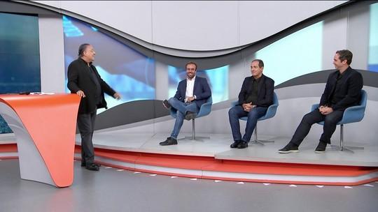 Galvão pede que comentaristas escolha três brasileiros favoritos na Taça Libertadores