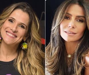 Ingrid Guimarães e Giovanna Antonelli   Divulgação e Instagram