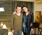 Matheus Nachtergaele e Sarah Oliveira no 'Viva voz' | Divulgação
