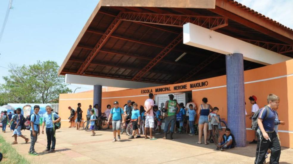 -  Pais e responsáveis por alunos da REME tem de confirmar a matrícula para 2018 até esta segunda-feira  13   Foto: Prefeitura de Campo Grande/Divulgaçã