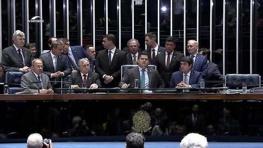 Senado aprova texto-base da reforma da Previdência em 2º turno: 60 votos a 19