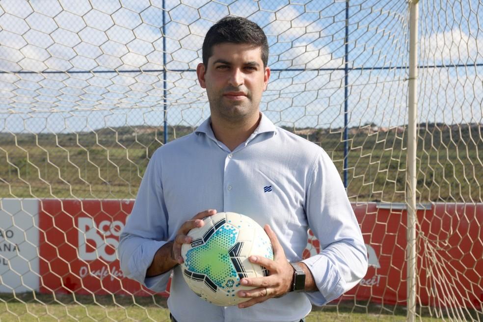 Lucas Drubscky é o novo executivo de futebol do Bahia — Foto: Felipe Oliveira/EC Bahia