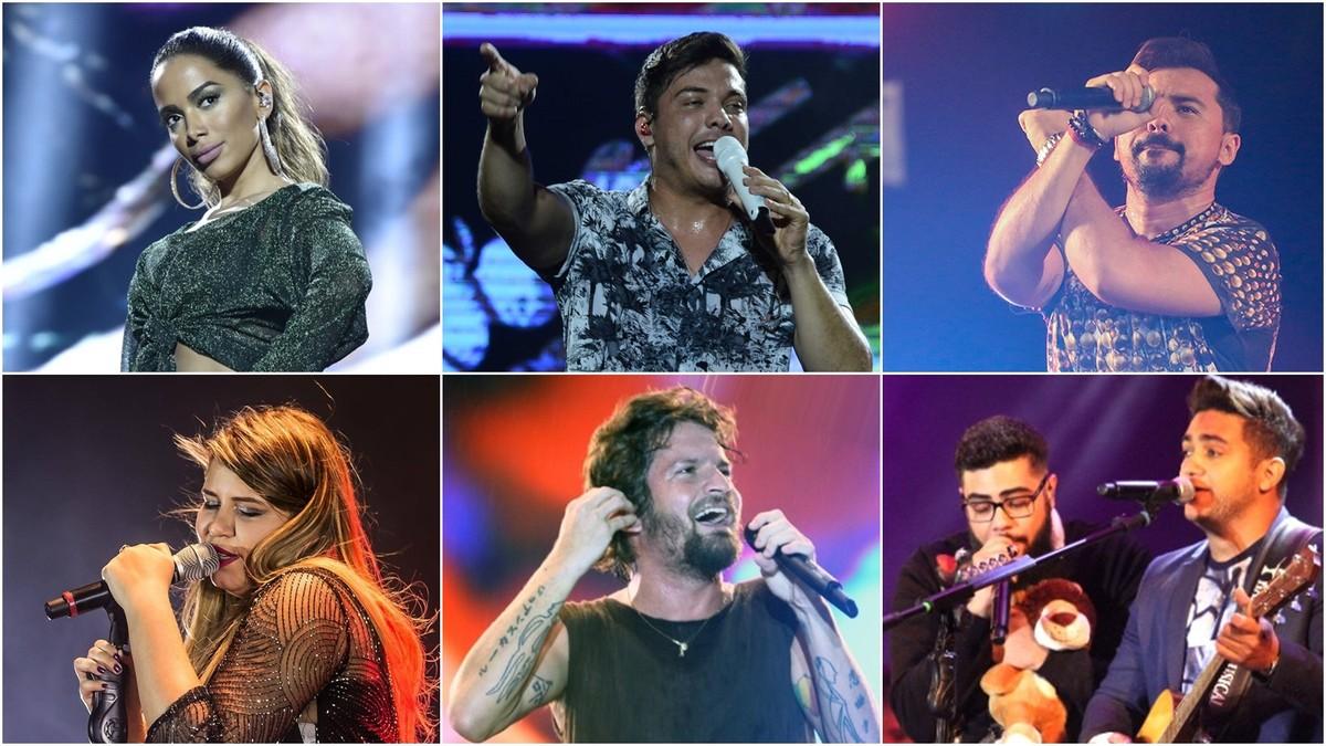 Venda do 1º lote de ingressos do Fest Verão Paraíba 2018 termina nesta sexta-feira