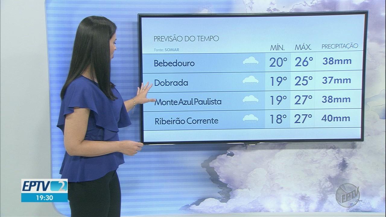 Veja a previsão do tempo para este sábado (6) na região de Ribeirão Preto