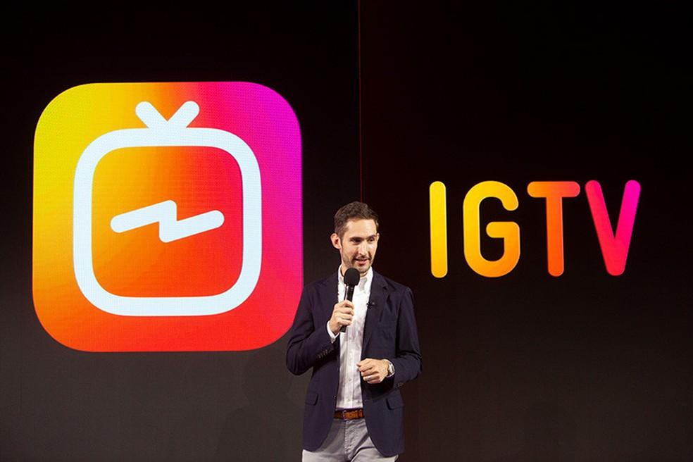 Kevin Systrom, um dos fundadores do Instagram. (Foto: Helton Simões Gomes/G1)