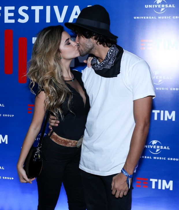 Talita Younan e Fabio Scalon (Foto: Brazil News)