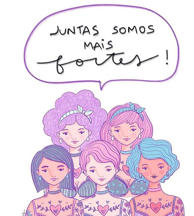 Ilustração por Aninha Pinheiro (Foto: Instagram/ Reprodução)