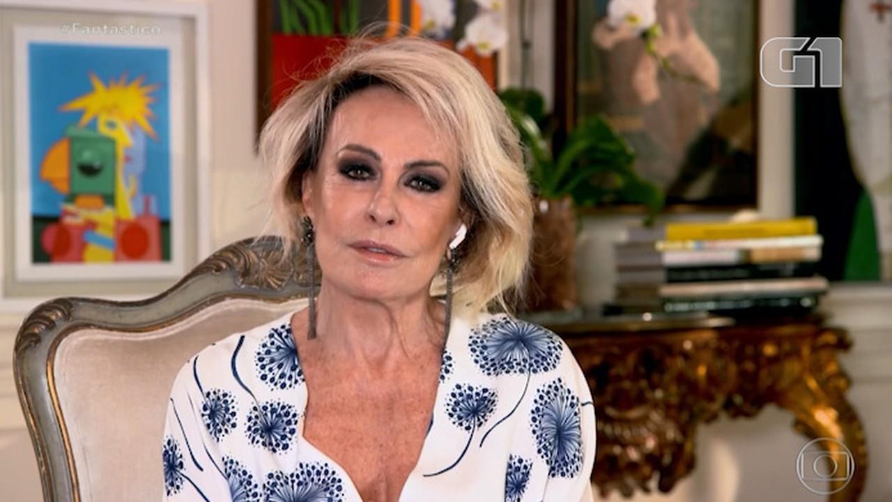 Ana Maria Braga diz que Louro José é eterno e compara o companheiro ao Mickey
