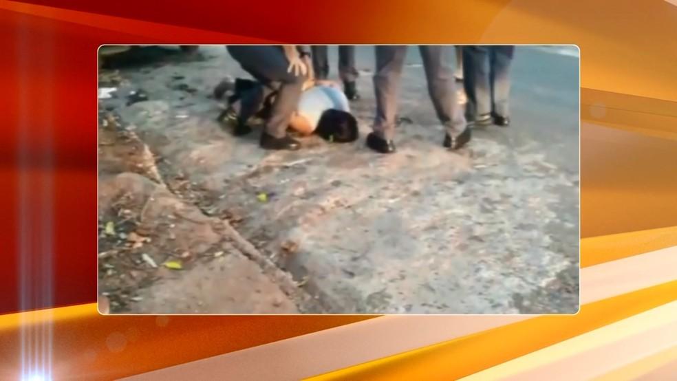Mulher do homem que morreu baleado foi rendida e presa por acidente em Fernandópolis — Foto: Arquivo Pessoal