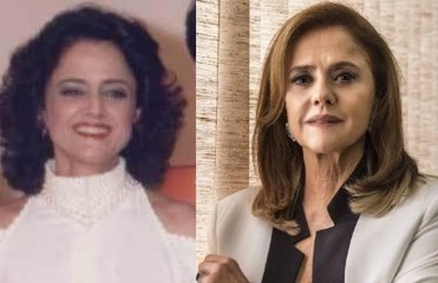 Na versão de 1985 de Ti-ti-ti', que será reprisada no Viva, Marieta Severo interpretou Suzana, editora da revista Moda Brasil e ex-mulher de Ariclenes (Luis Gustavo). Os dois tinham uma relação conflituosa (Foto: TV Globo)