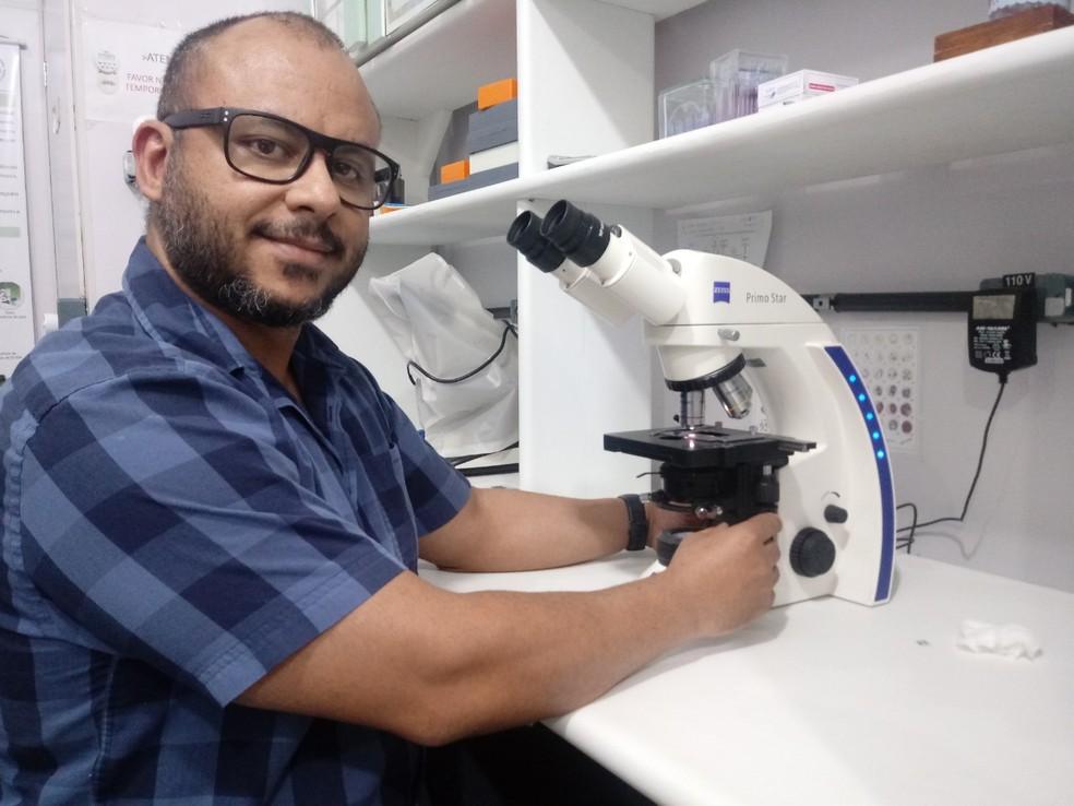 Pesquisador Quintino Dias está à frente das pesquisas desde 2013.  — Foto: Divulgação/Fiocruz