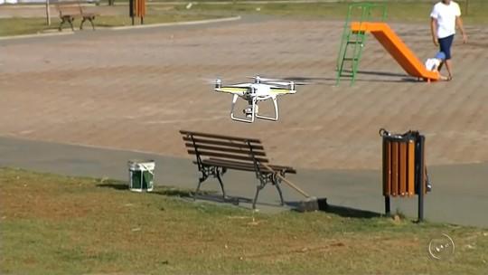 Com risco de epidemia de dengue, drone buscará focos do Aedes aegypti em Botucatu