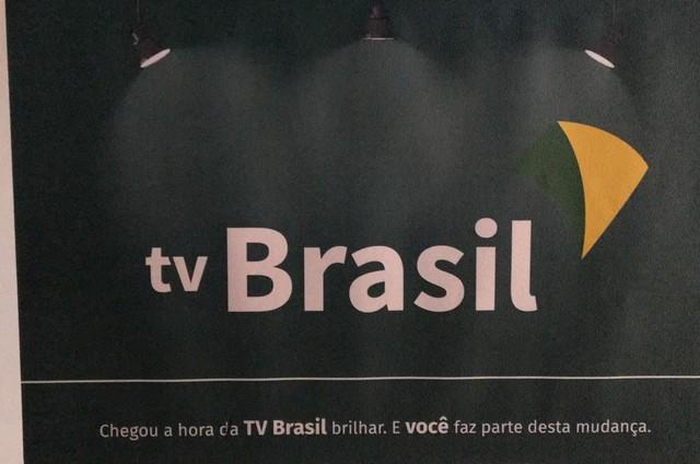Novo logotipo da TV Brasil (Foto: Reprodução)