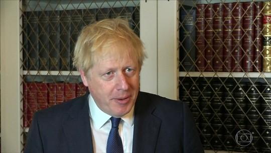 Boris Johnson quer a suspensão do Parlamento até 14 de outubro
