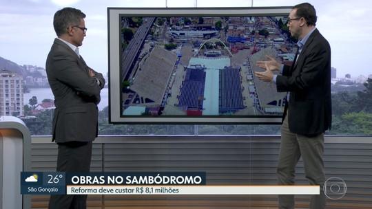 Prefeitura do Rio anuncia R$ 8 milhões em reforma do Sambódromo