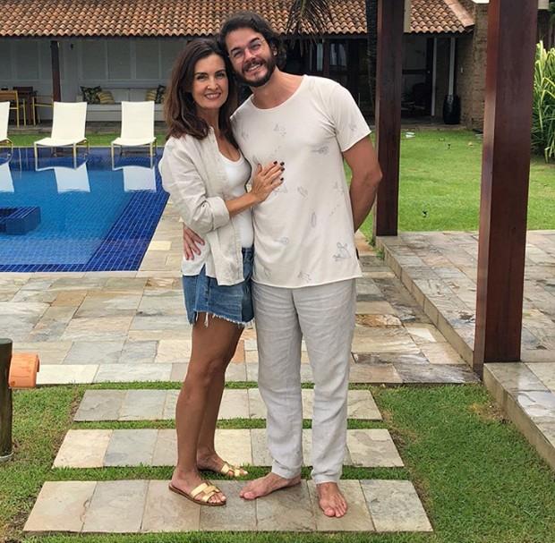 Fátima Bernardes e Tulio Gadelha (Foto: Reprodução / Instagram)