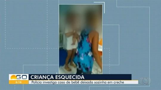 Polícia tenta identificar funcionários responsáveis por esquecer bebê em creche em Valparaíso de Goiás