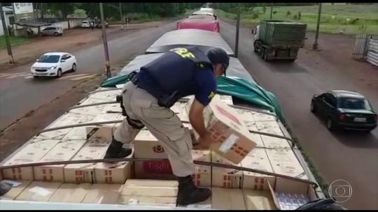 Contrabando causa prejuízo de R$ 350 bi ao país nos últimos 3 anos