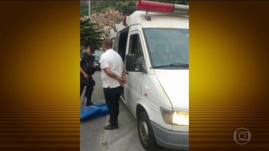 PMs são suspeitos de facilitar saída de  drogas da Rocinha em ambulância