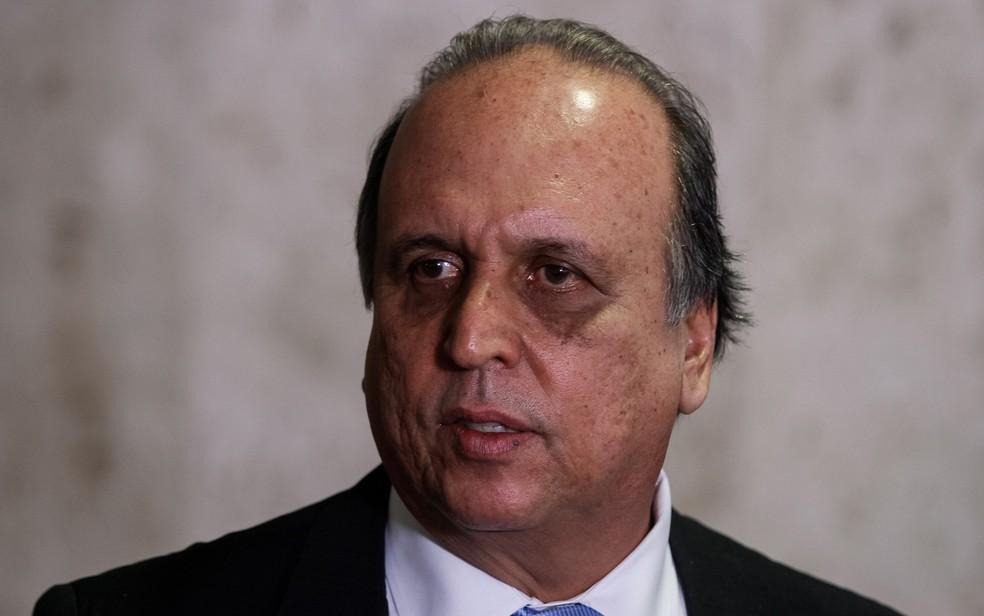 Ex-governador do Rio de Janeiro, Luiz Fernando Pezão — Foto: Isac Nóbrega/PR