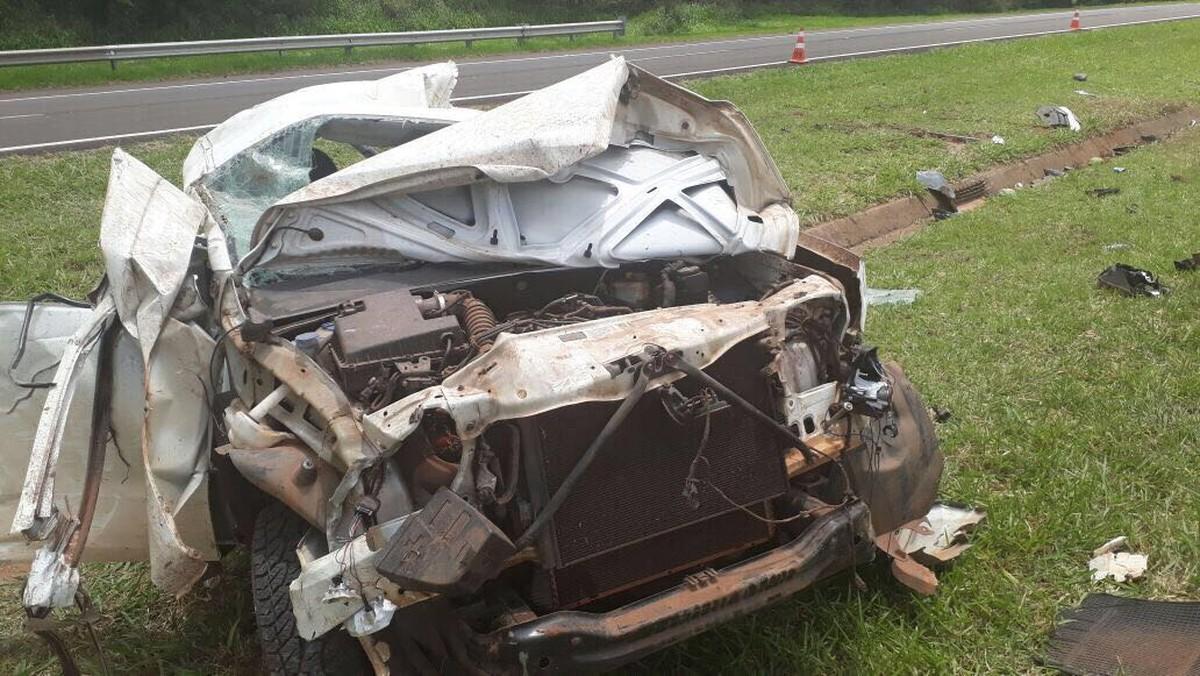 Motorista fica gravemente ferido após acidente em rodovia de Mirandópolis