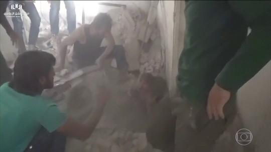 EUA afirmam que o governo sírio planeja um novo ataque químico
