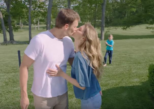 Gisele e Tom Brady (Foto: Reprodução/Youtube)
