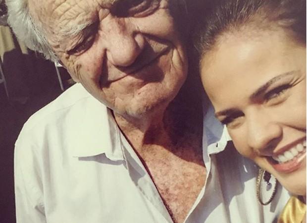 Henrique Martins e a atriz Thais Pacholek (Foto: Reprodução/Instagram)