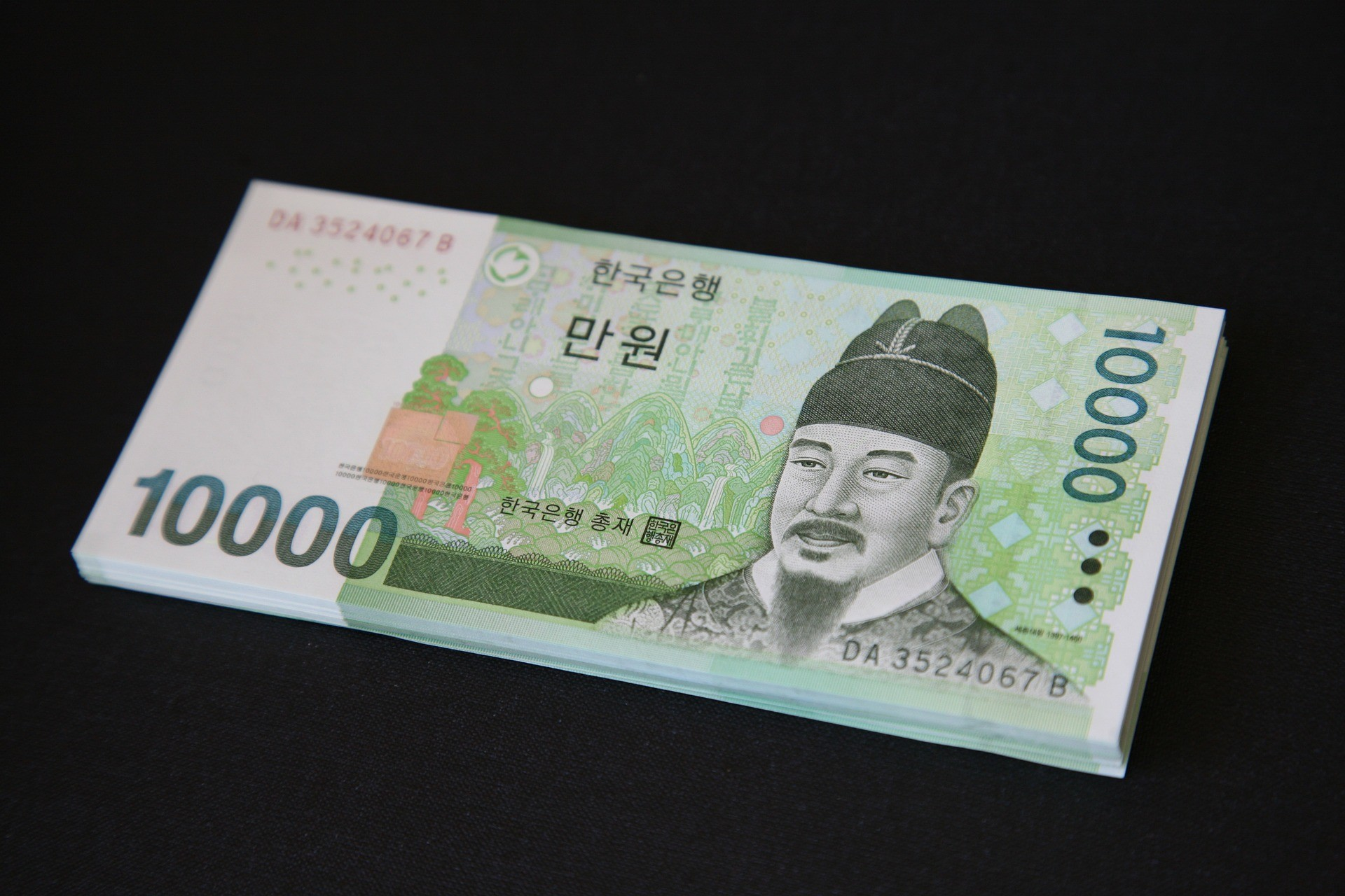 Polícia recolheu 15,8 milhões de won, moeda sul-coreana  (Foto: Pixabay/ Manseok/ Creative Commons )