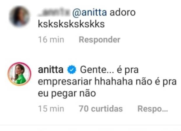 Anitta se explica (Foto: Reprodução/Instagram)