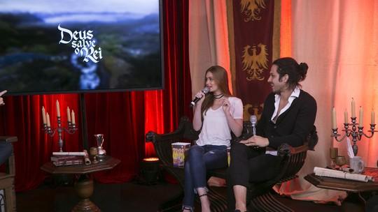 Marina Ruy Barbosa define Amália: 'Ela é um vulcão'