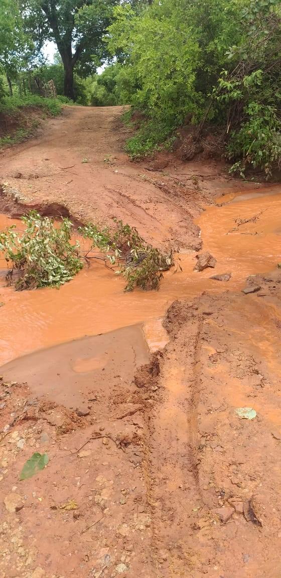 Prefeito de Guaribas decreta situação de emergência após ponte cair e isolar cidade