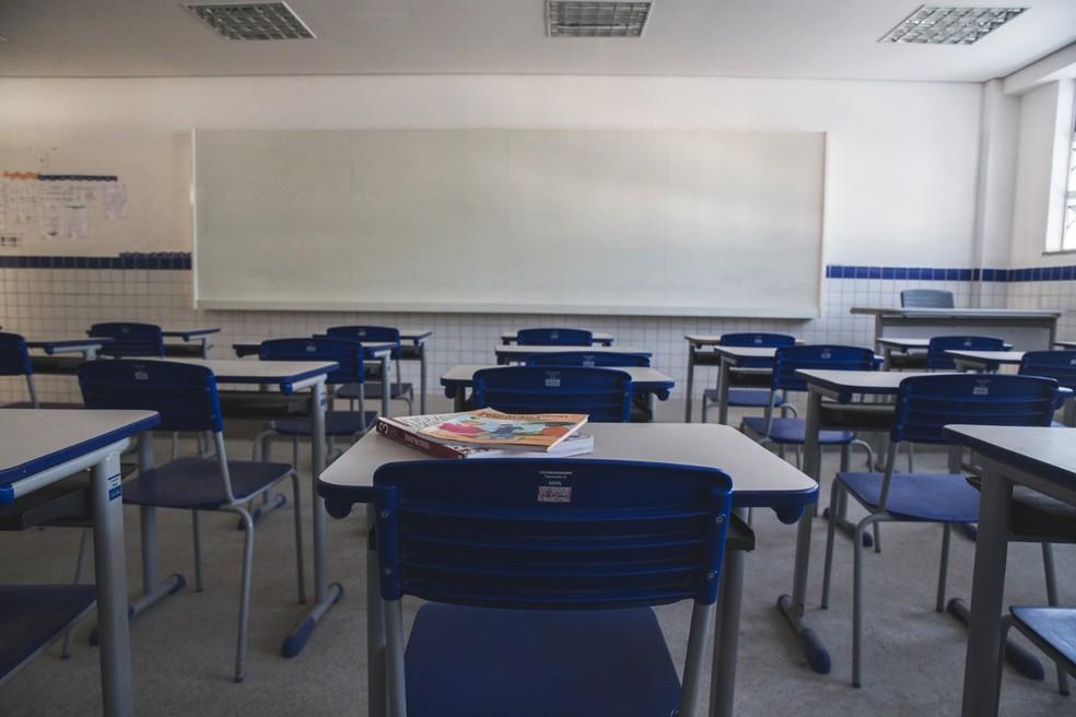 Mais de 8,2 mil estudantes das redes pública e privada dos anos do fundamental deixaram a escola em 2019 — Foto: Thiago Gadelha